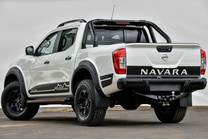 2020 NISSAN NAVARA N-TREK WARRIOR DUAL D23 S4 MY19 WHITE DIAMOND