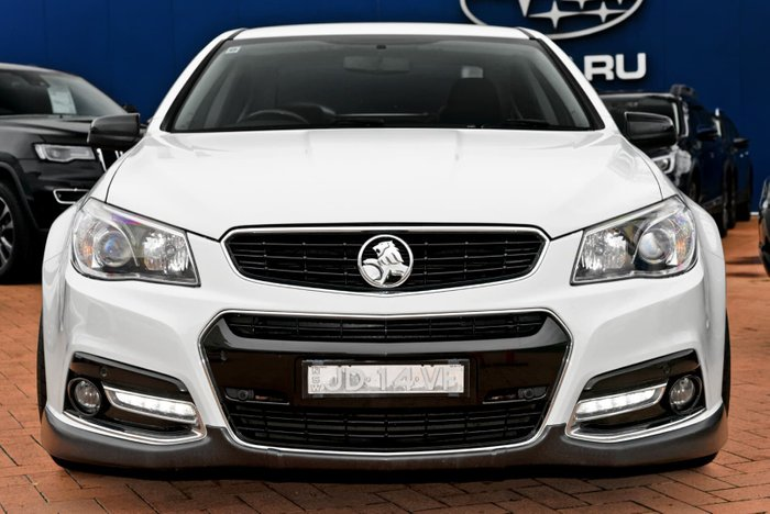 2014 Holden Commodore SS Storm VF MY14 White