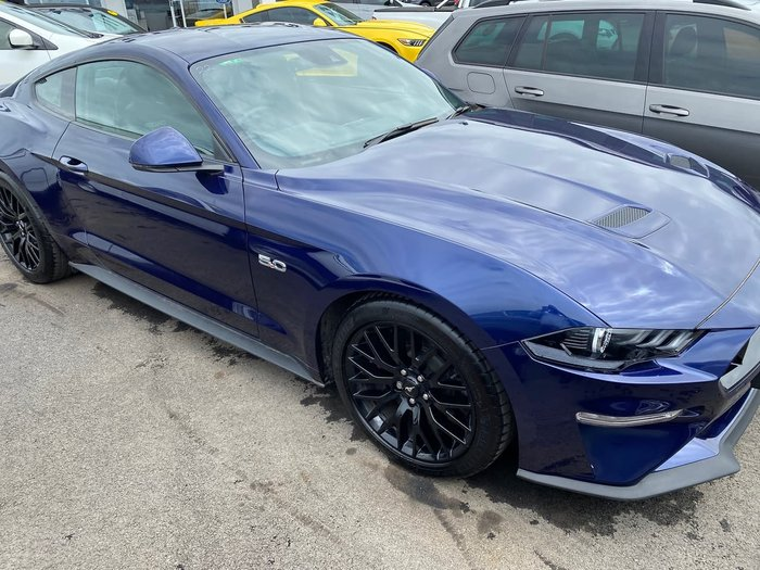 2018 Ford Mustang GT FN MY18 Blue
