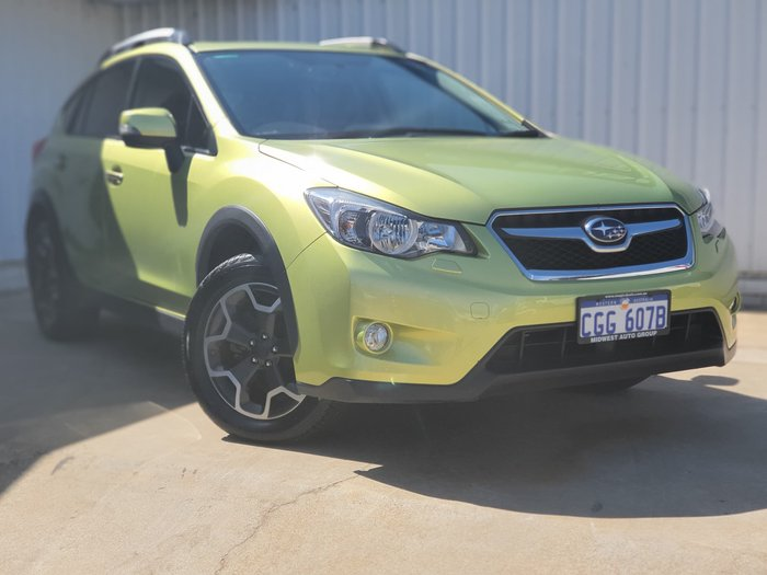 2015 Subaru XV 2.0i-S G4X MY15 Four Wheel Drive Green