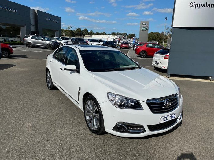 2014 Holden Calais V VF MY15 White