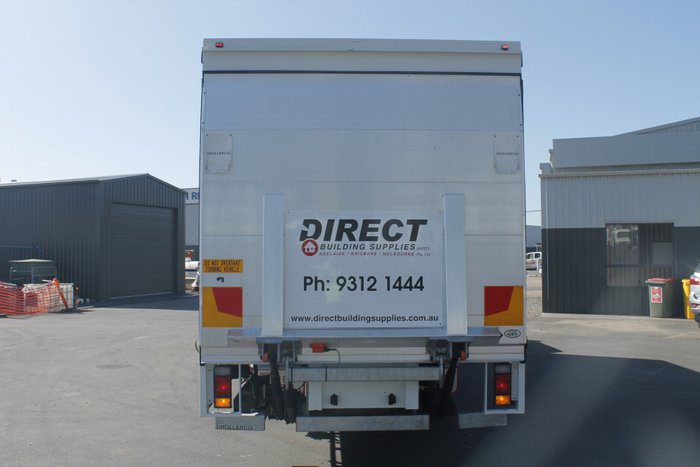 2014 Isuzu FSR850 Long Tautliner White