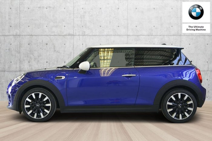 2018 MINI Hatch Cooper F56 LCI Blue