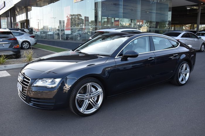 2011 Audi A7 4G Four Wheel Drive Blue