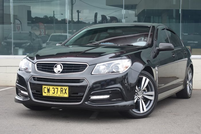 2015 Holden Commodore SV6 VF MY15 Black