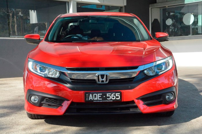 2017 Honda Civic VTi-S 10th Gen MY16 Red