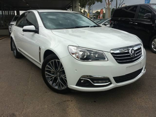 2016 Holden Calais VF Series II MY16 HERON WHITE