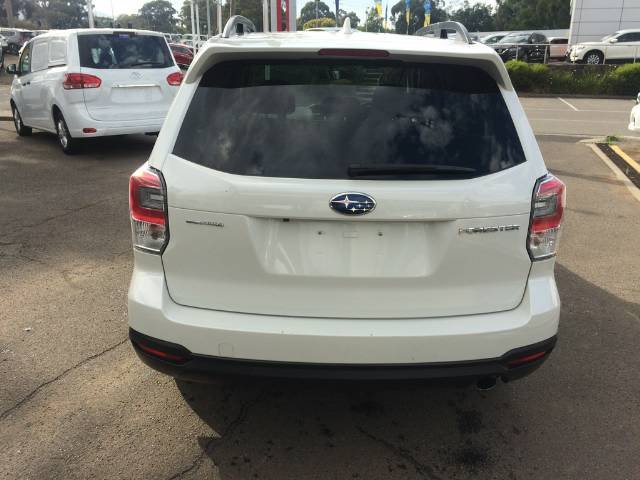2017 Subaru Forester 2.5i-L S4 MY18 Four Wheel Drive CRYSTAL WHITE PEARL