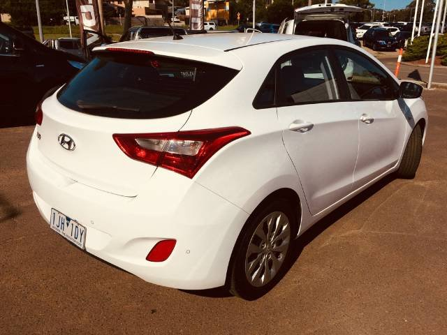 2016 Hyundai i30 Active GD4 Series II MY17 POLAR WHITE