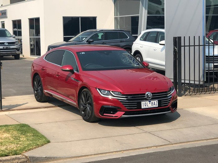 2017 Volkswagen Arteon 206TSI R-Line 3H MY18 Four Wheel Drive Red