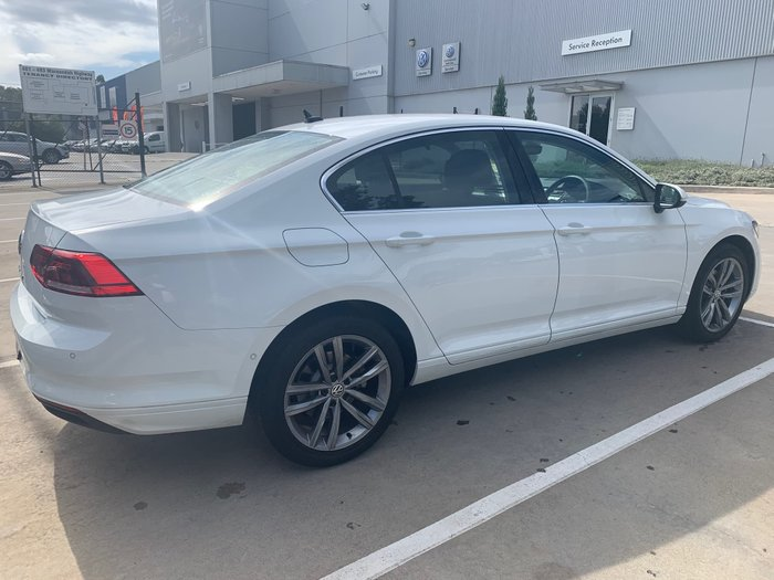 2019 Volkswagen Passat 140TSI Business B8 MY20 White