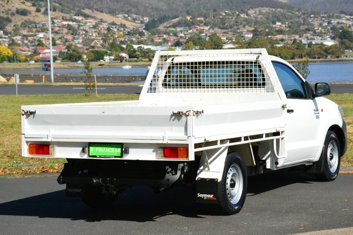 2012 Toyota Hilux Workmate KUN16R MY12 WHITE
