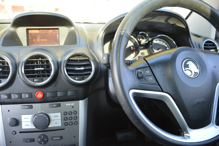 2015 Holden Captiva 5 LTZ CG MY15 4X4 On Demand WHITE