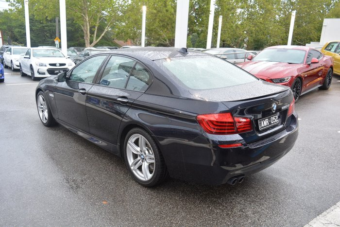 2016 BMW 5 Series 520d M Sport F10 LCI Black