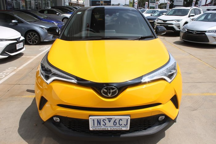 2018 Toyota C-HR NGX50R 4X4 On Demand Yellow