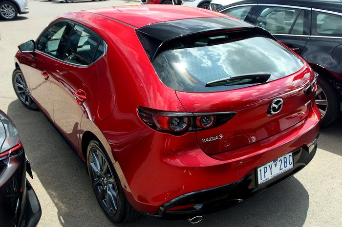 2019 Mazda 3 G20 Touring BP Series Red