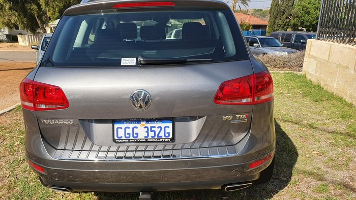 2013 Volkswagen Touareg 150TDI 7P MY13 Four Wheel Drive Grey