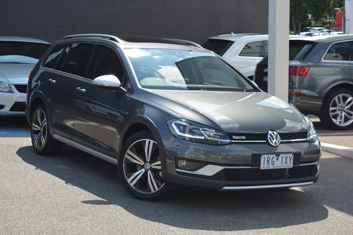 2018 Volkswagen Golf Alltrack 132TSI Premium 7.5 MY19 Four Wheel Drive Grey