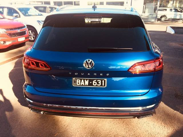 2019 Volkswagen Touareg 190TDI Launch Edition CR MY19 Four Wheel Drive REEF BLUE METALIC