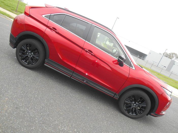 2018 Mitsubishi Eclipse Cross Black Edition YA MY19 Red