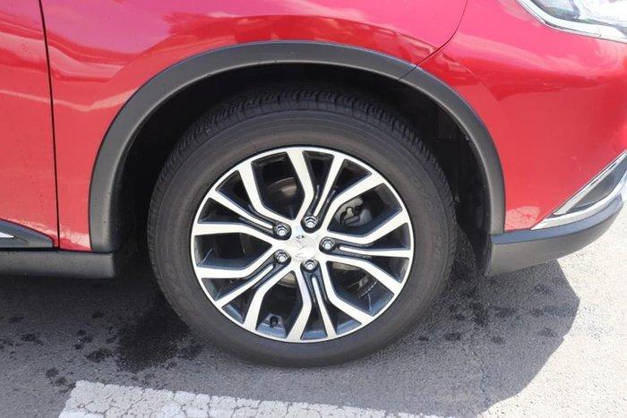 2017 Mitsubishi Outlander LS ZK MY18 4X4 On Demand Red