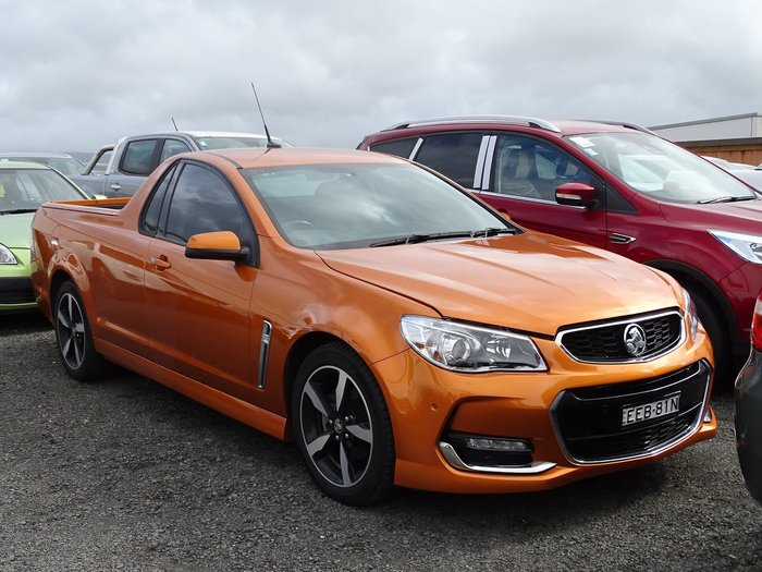 2017 Holden Ute SV6 VF Series II MY17 Orange