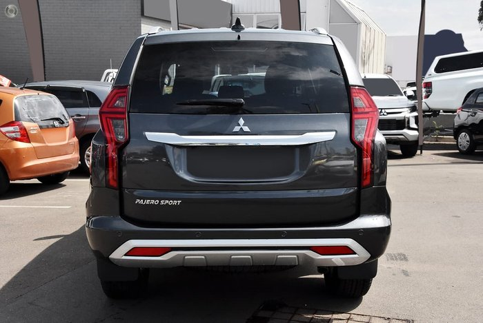 2019 Mitsubishi Pajero Sport Exceed QF MY20 4X4 Dual Range Grey