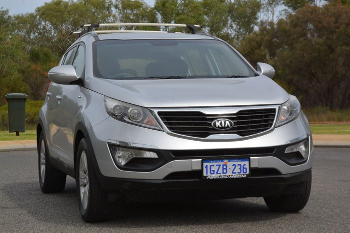 2013 Kia Sportage SLi SL MY13 4X4 On Demand Silver