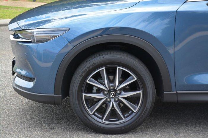 2018 Mazda CX-5 Akera KF Series 4X4 On Demand Blue