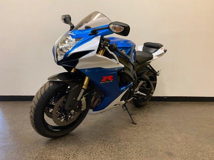 2013 Suzuki GSX-R750 Blue
