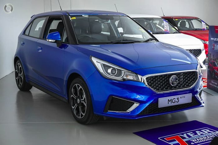 2019 MG MG3 Excite MY18 Blue