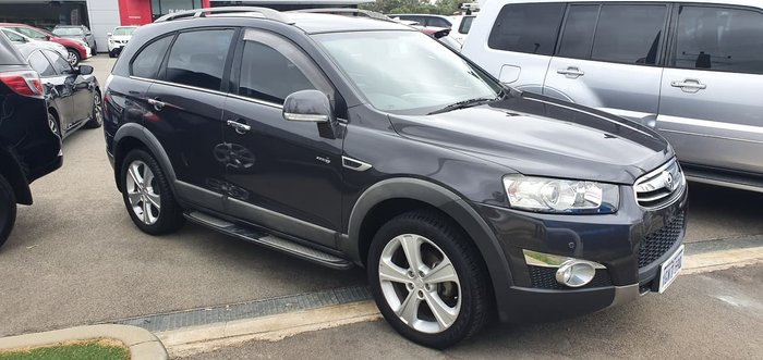 2013 Holden Captiva 7 LX CG Series II MY12 4X4 On Demand Grey