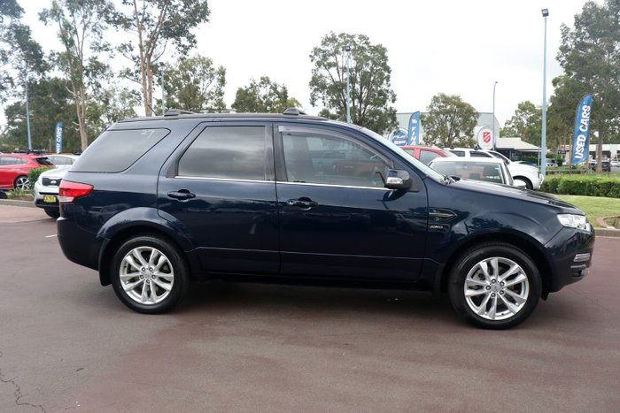 2012 Ford Territory Titanium SZ Four Wheel Drive Blue