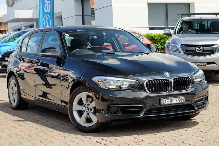 2015 BMW 1 Series 118i Sport Line F20 LCI Black