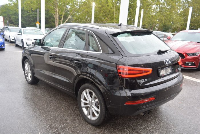 2015 Audi Q3 TFSI 8U MY14 Four Wheel Drive Black