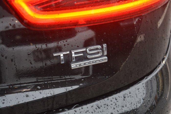 2014 Audi Q3 TFSI 8U MY14 Four Wheel Drive Black