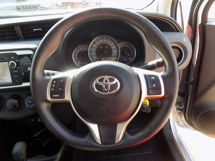 2014 Toyota Yaris YRS NCP131R Silver