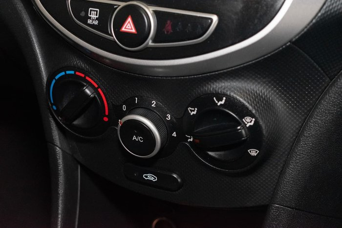 2011 Hyundai Accent Active RB Blue