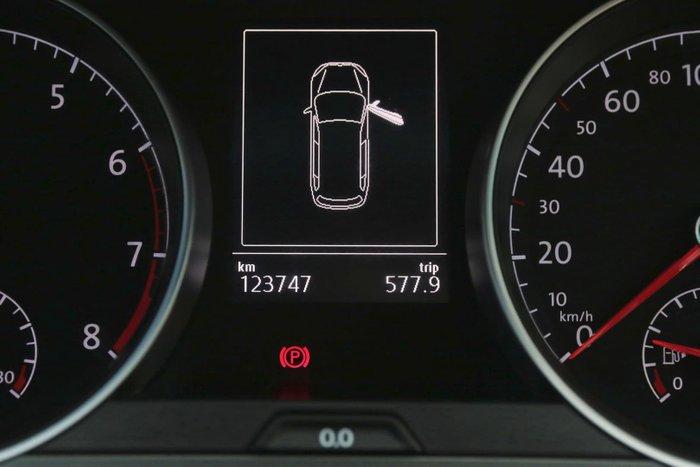 2016 Volkswagen Golf Alltrack 132TSI 7 MY17 Four Wheel Drive Black