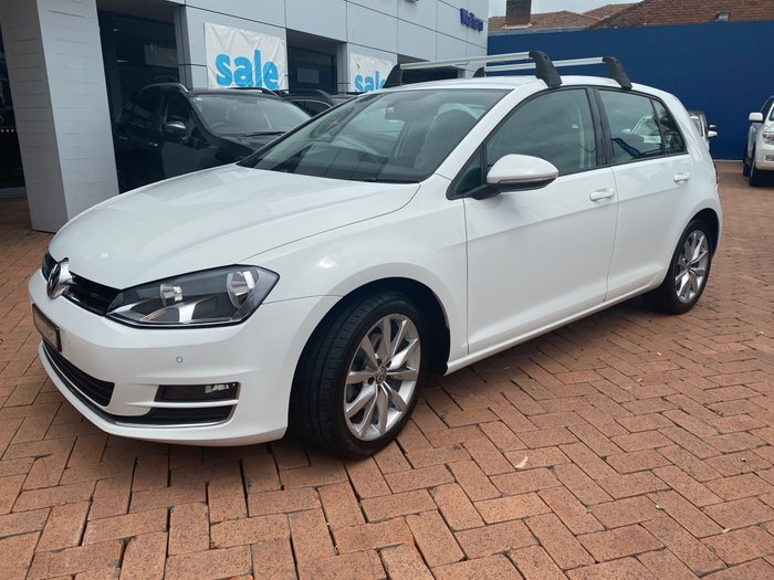 2014 Volkswagen Golf 103TSI Highline 7 MY15 White
