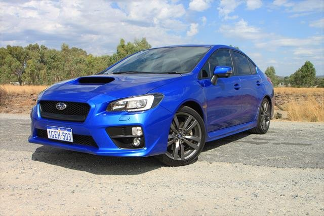 2016 Subaru WRX Premium V1 MY16 Four Wheel Drive BLUE PEARL