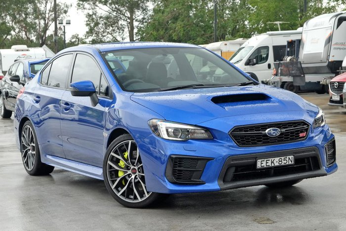 2019 Subaru WRX STI V1 MY20 Four Wheel Drive Blue