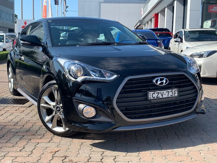 2015 Hyundai Veloster SR Turbo + FS4 Series II Black