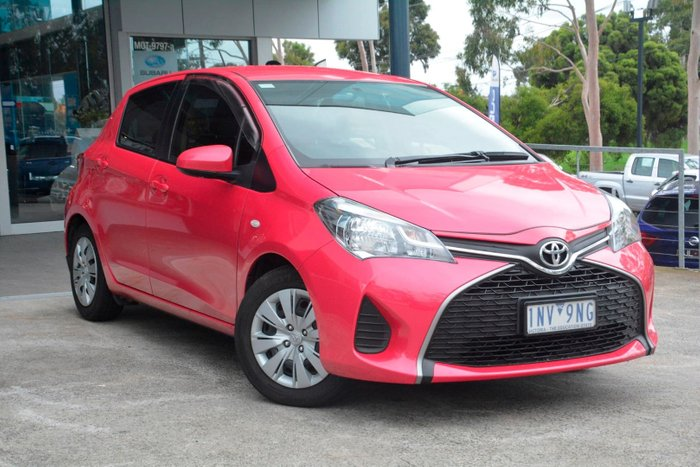 2015 Toyota Yaris Ascent NCP130R Pink