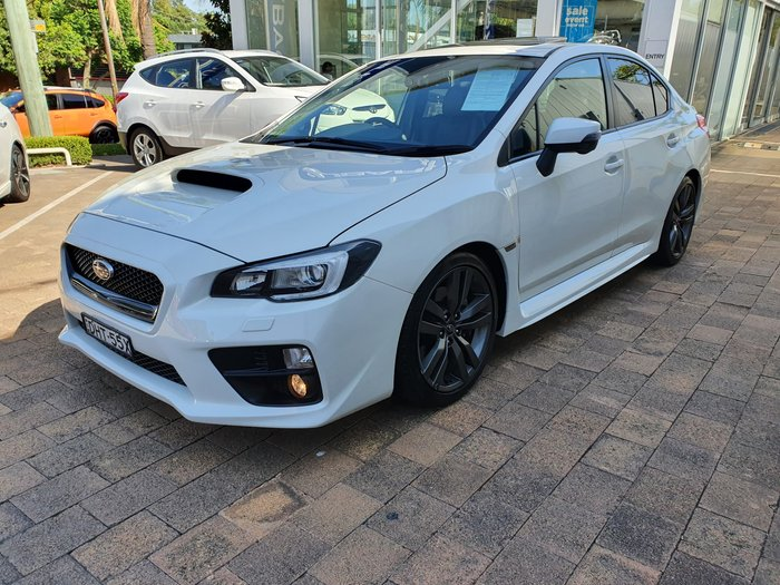 2016 Subaru WRX Premium V1 MY17 Four Wheel Drive White