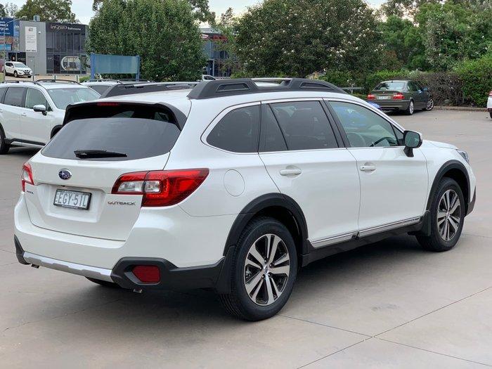 2019 Subaru Outback 3.6R 5GEN MY20 Four Wheel Drive White