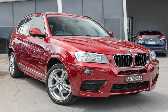 2014 BMW X3 xDrive20d F25 LCI 4X4 Constant Red