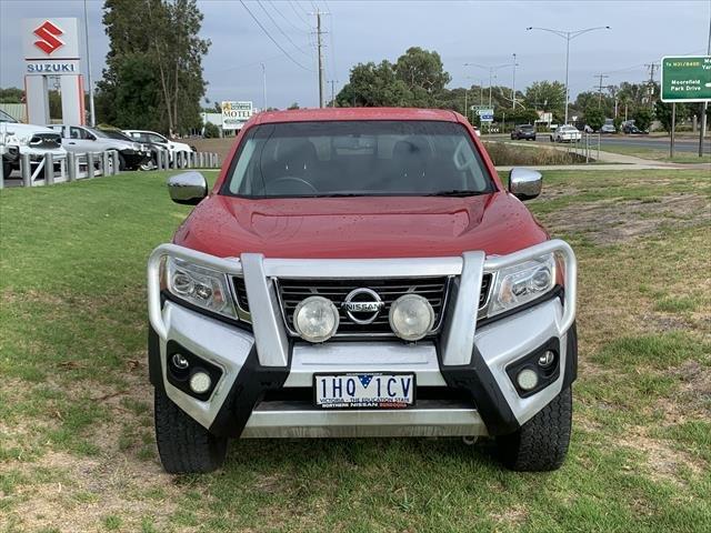 2016 Nissan Navara ST D23 4X4 Dual Range RED