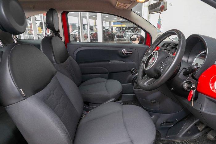 2013 Fiat 500 Pop Series 1 Red