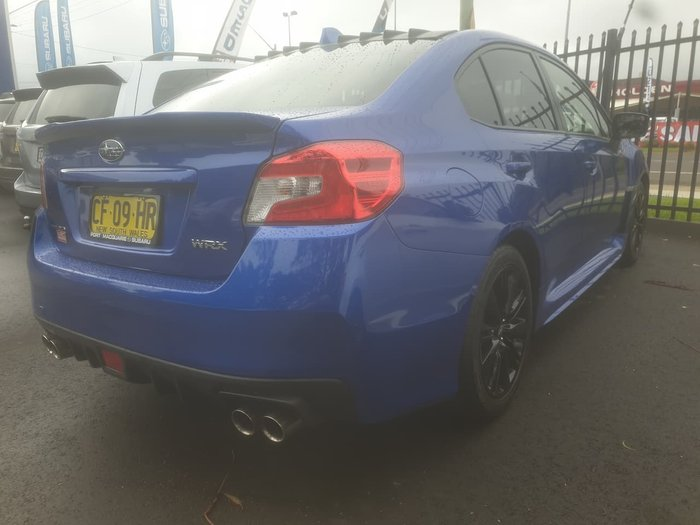 2015 Subaru WRX Premium V1 MY15 Four Wheel Drive Blue